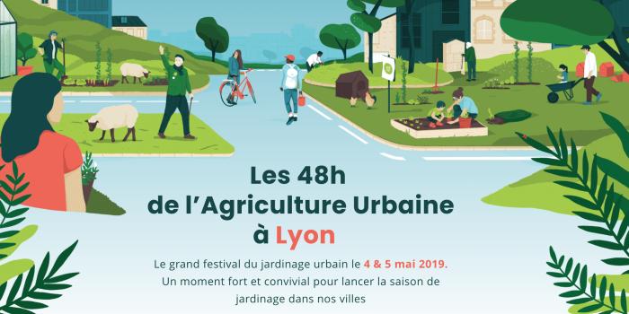 Comprendre L'agroécologie C'est Possible Avec Le CDA Aux 48h De L'agriculture Urbaine à Lyon Le 4 Mai 2019